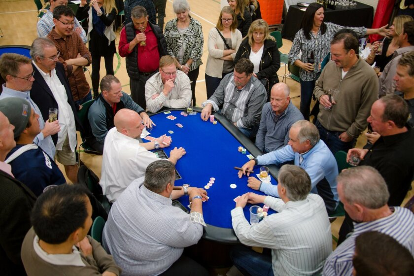 "Rancho Santa Fe Community Center's ""Put Your Hearts on the Table"" Poker Tournament 2015. Courtesy photo"