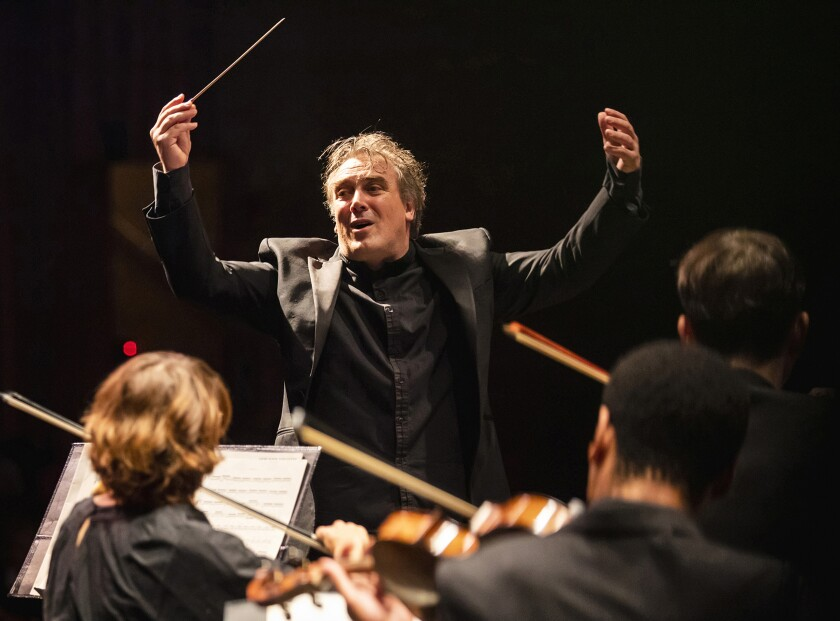 Jaime Martín made his first appearance as music director of Los Angeles Chamber Orchestra (LACO) when the 2019-20 season launched on September 28 and 29 at Royce Hall.