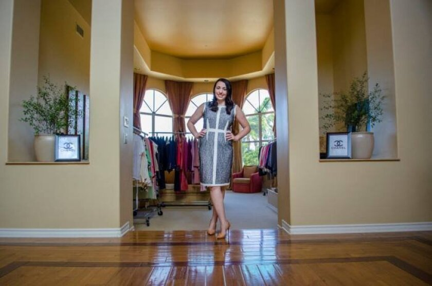 Christina Samoylov founded online consignment boutique Designer Vault in 2012 and is preparing for her second trunk show this weekend.