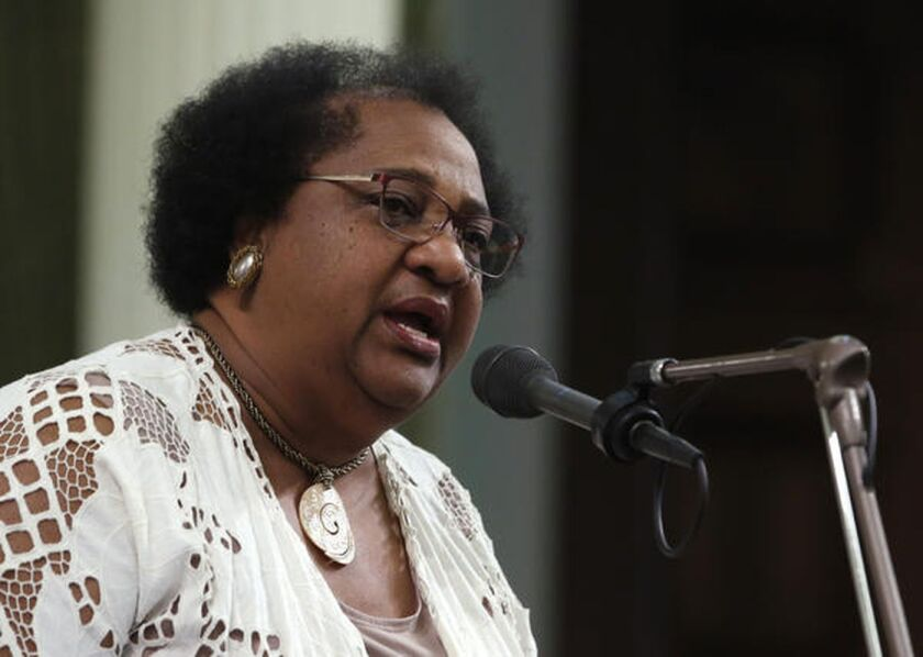 Assemblywoman Shirley Weber (D-San Diego) has introduced bills to revive affirmative action and consider slavery reparations.