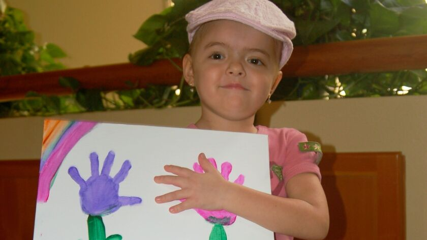 In 2007 Cassandra Junkin was treated at Rady Children's Hospital when she was 4. She is now 14 and a