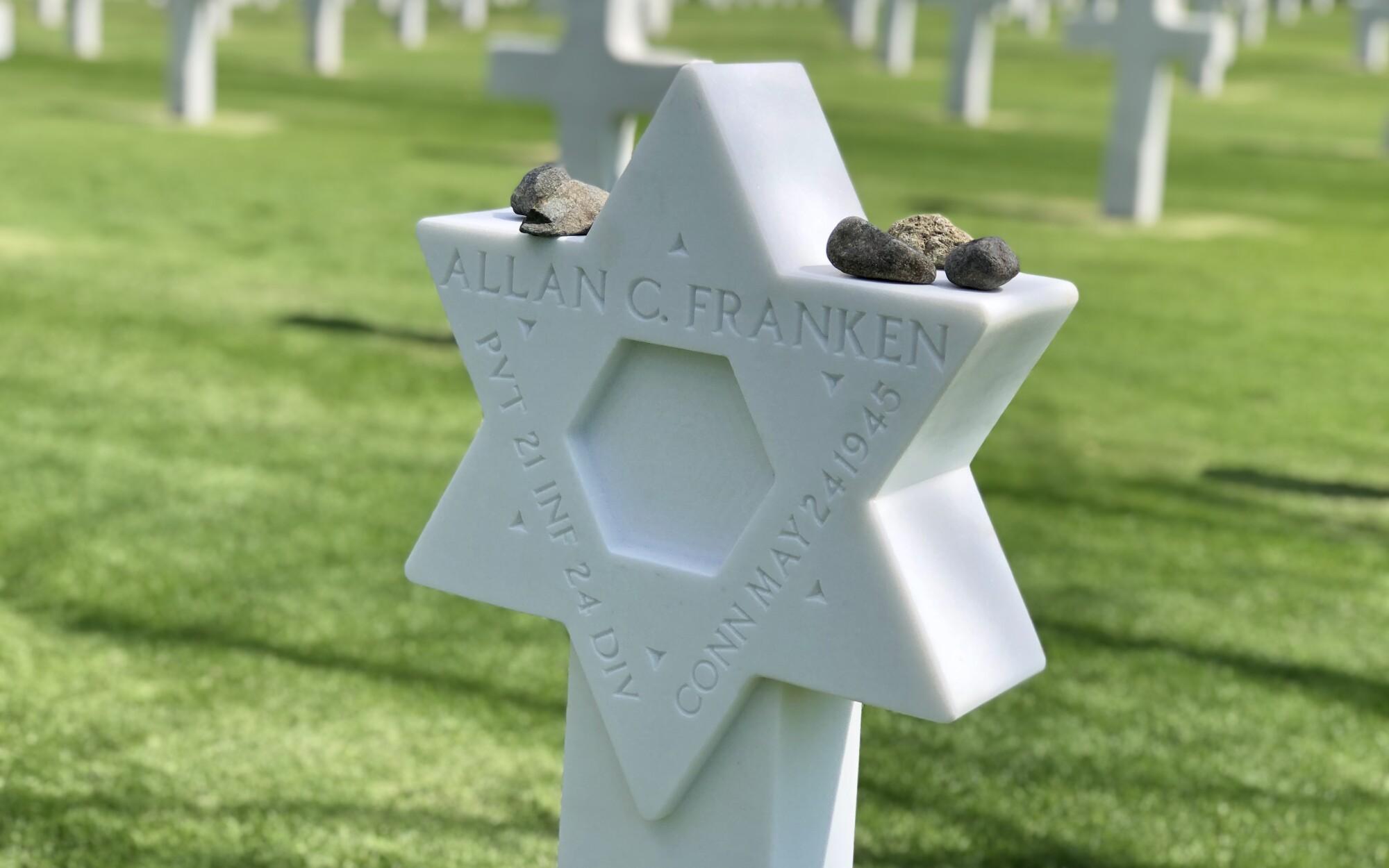 Jewish gravestone in Manila