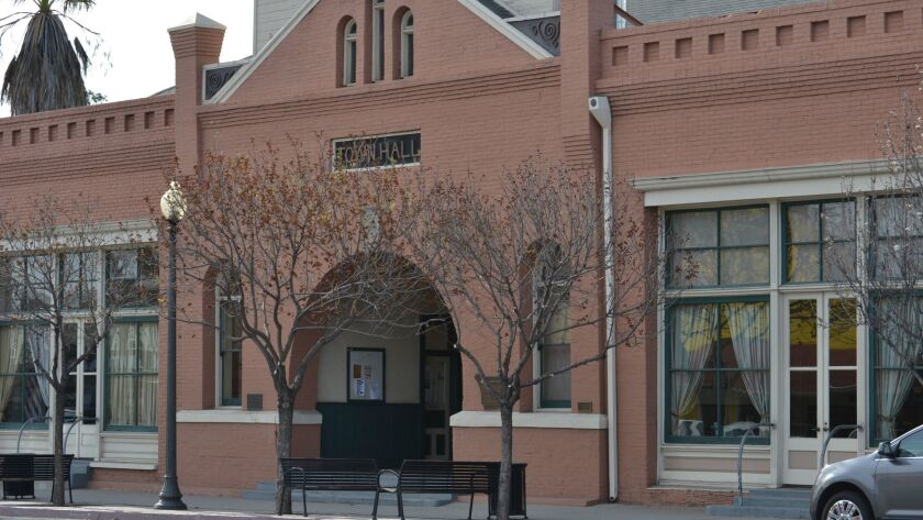 Ramona Town Hall roof replacement is among the grants.