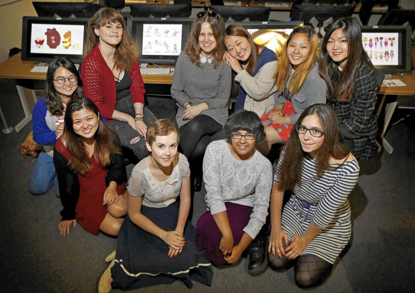 College Animation Women