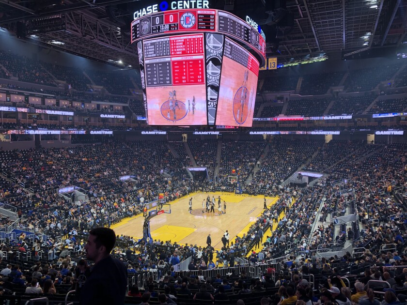 Coronavirus Nba S Warriors To Play In Empty Arena Los Angeles Times
