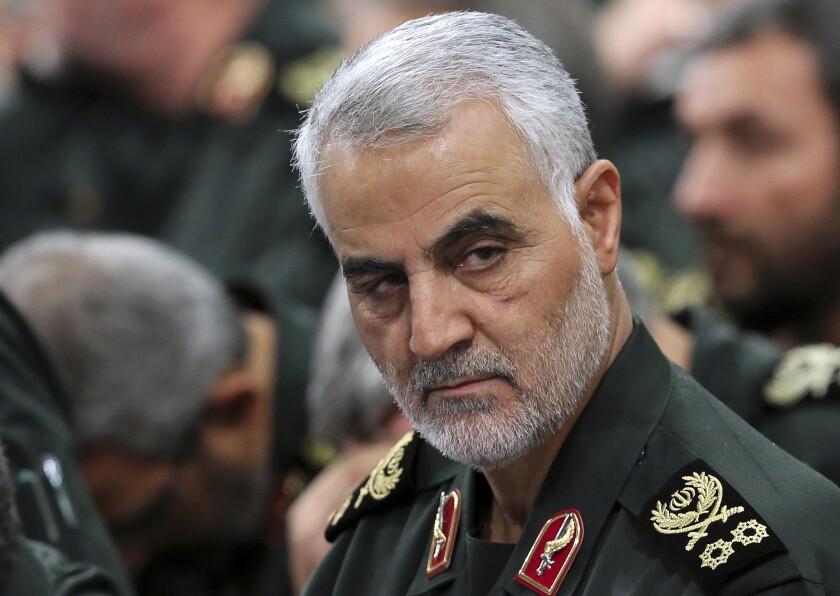 Iranian Gen. Qassem Suleimani