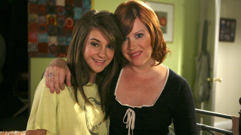"DRAMA, MAMA: Shailene Woodley, left, India Eisley and Molly Ringwald in ABC Family's ""The Secret Life of the American Teenager."""