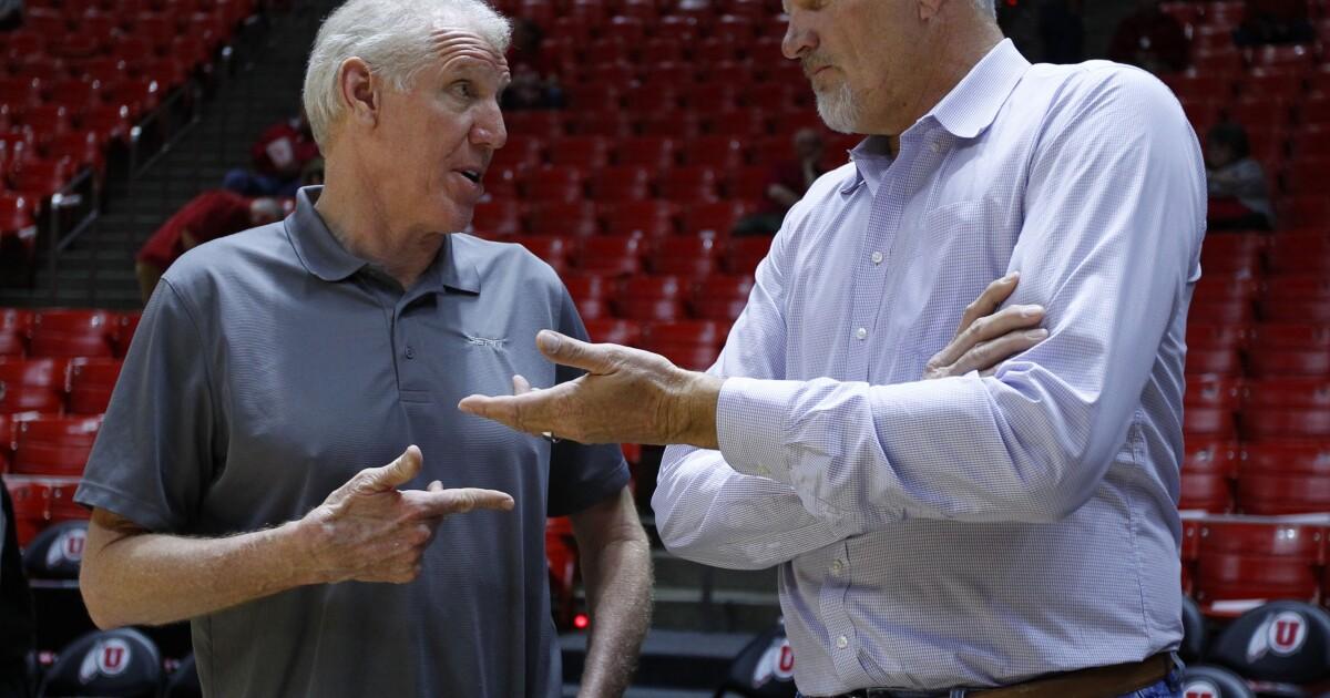 Mark Eaton, Utah Jazz shot-blocking giant, dies at 64