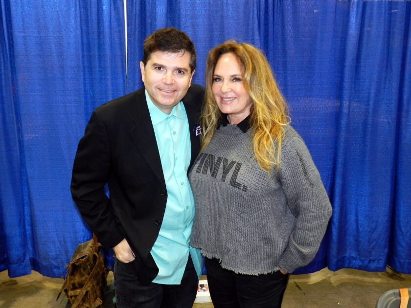 Catherine Bach at NostalgiaCon 2019