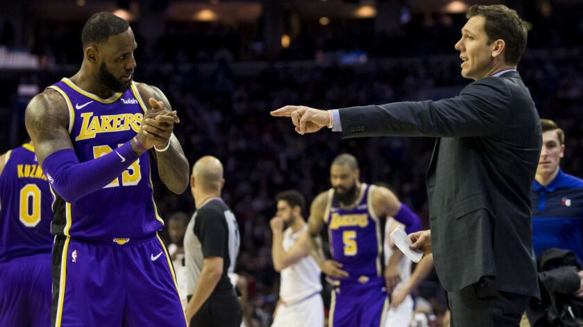 89b400817 Column  LeBron-led Lakers became a  lose-lose  situation for Luke ...