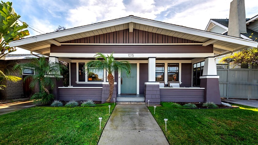 SAN DIEGO: A few miles from San Diego International Airport, this character-filled Craftsman offers