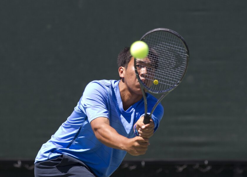 May was a month of championships for Rancho Bernardo tennis player Tyler Pham.