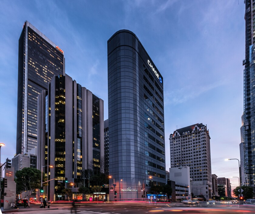 Chase Plaza in downtown Los Angeles has been sold for more than $50 million.