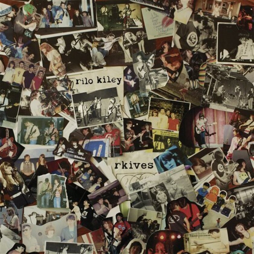 """This CD cover image released by Little Record Company shows """"Rkives,"""" by Rilo Kiley. (AP Photo/Little Record Company)"""