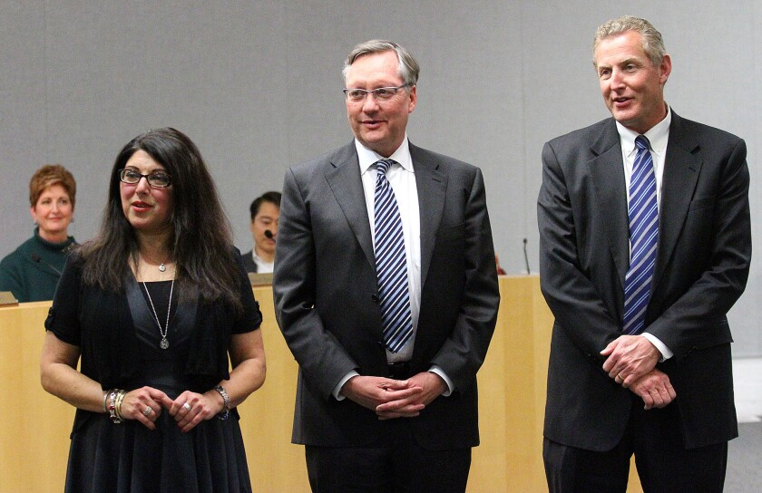 Photo Gallery: Outgoing LCUSD school board and incoming new LCUSC school board meeting