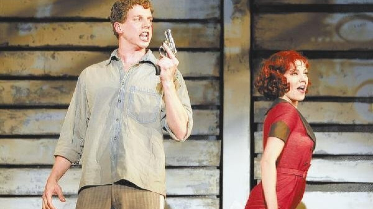 Bonnie & Clyde' witty, tuneful to its grisly end - The San