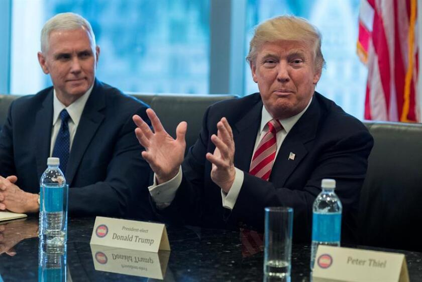 Lo más selecto del sector tecnológico de Estados Unidos comenzó hoy en Nueva York una reunión con el presidente electo, Donald Trump, en un intento por concertar posiciones e impulsar la innovación en el país. EFE