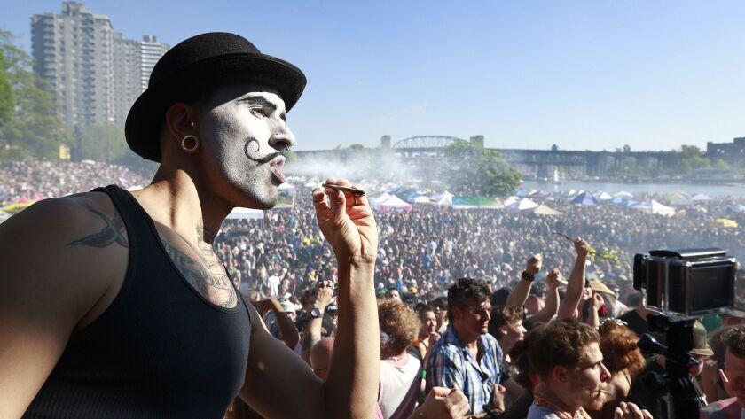 Marijuana Smokers Celebrate The Plant's Unofficial 4/20 Holiday