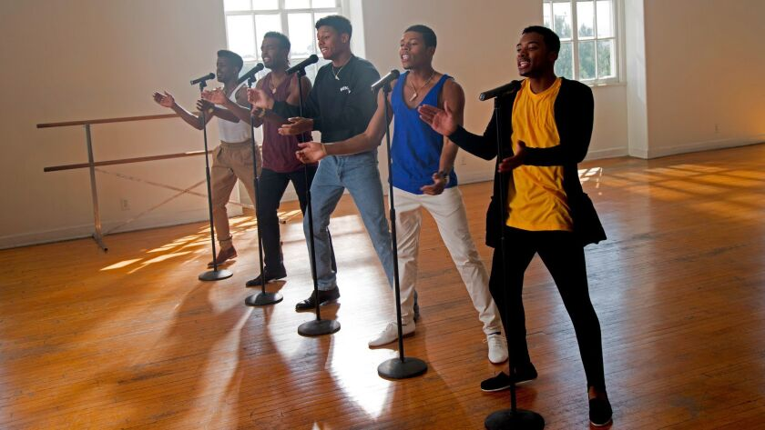 """A scene from BET's """"The New Edition Story."""""""