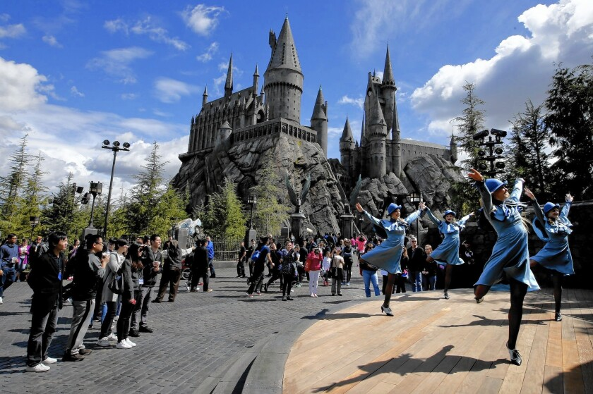 The Wizarding World of Harry Potter at Universal Studios Hollywood is set to open April 7.