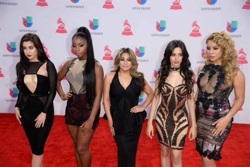 Miembros del grupo estadounidense Fifth Harmony. EFE/Archivo