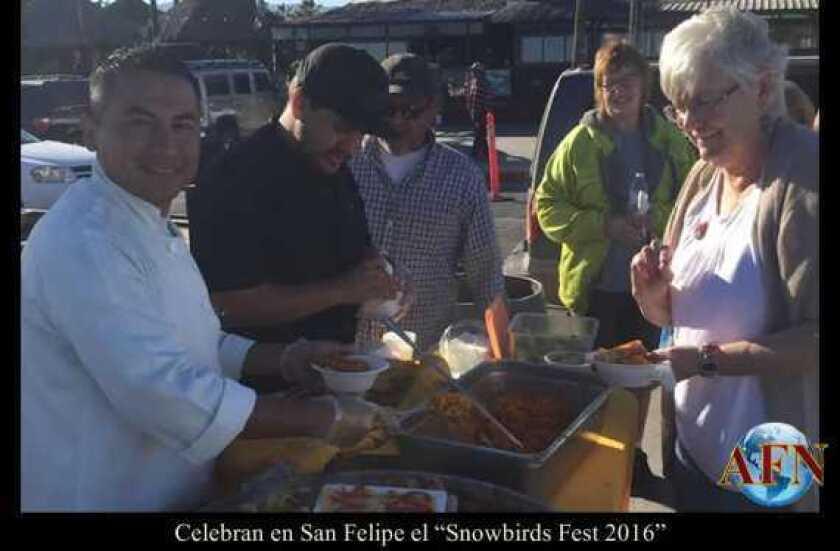"Celebran en San Felipe el ""Snowbirds Fest 2016"""