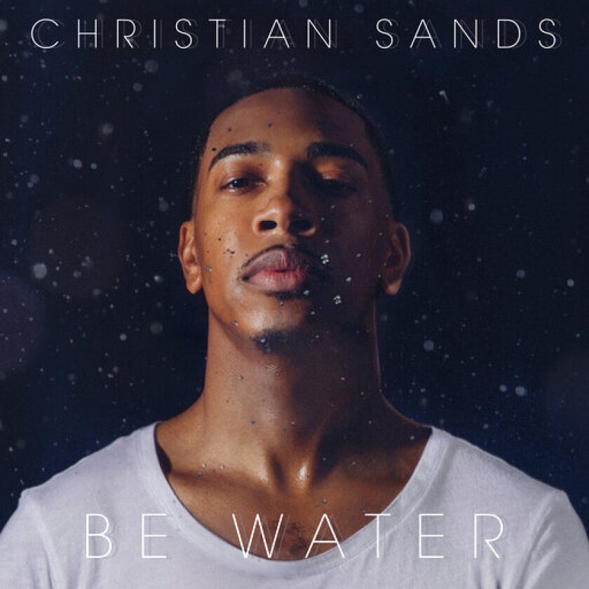 """This cover image released by Mack Avenue shows """"Be Water"""" by Christian Sands. (Mack Avenue via AP)"""