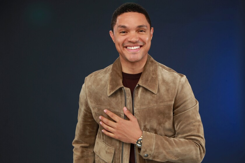 Trevor Noah and THE DAILY SHOW is just trying to keep up with day's news like the rest of us.