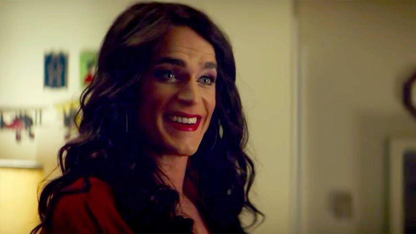 "Matt Bomer stars as Freda in the drama ""Anything."""