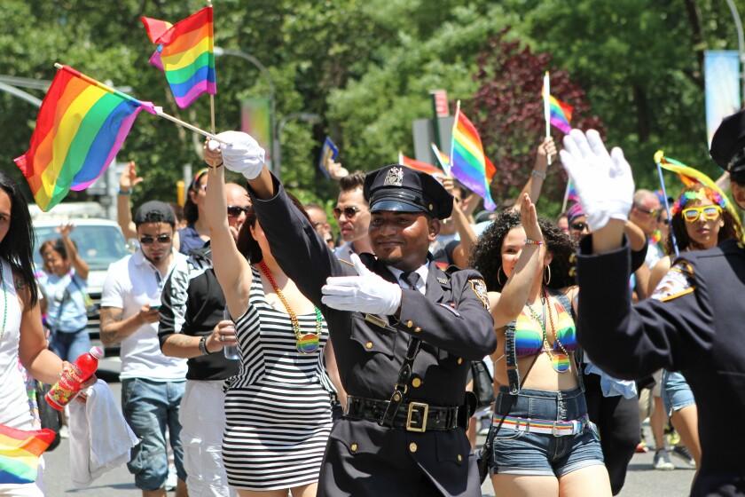 Agentes del Departamento de Policía de Nueva York
