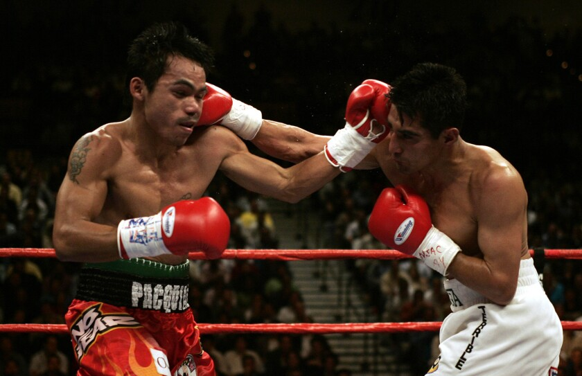 Eric Morales v Manny Pacquiao