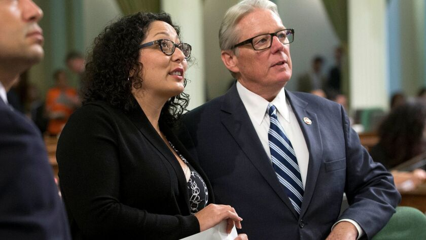 Assemblywoman Cristina Garcia (D-Bell Gardens) is working on legislation that could change the direction of California's policies on climate change.