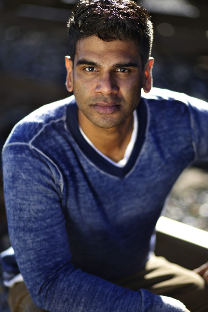 "Ronobir Lahiri, who plays Amir in ""Disgraced."""