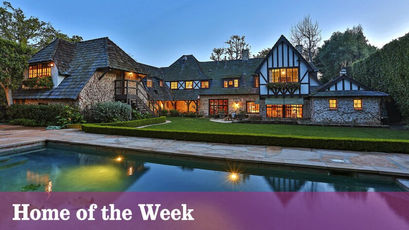 The Gerard Colcord-designed home at 13535 Lucca Drive, Pacific Palisades, is listed at $8.15 million.