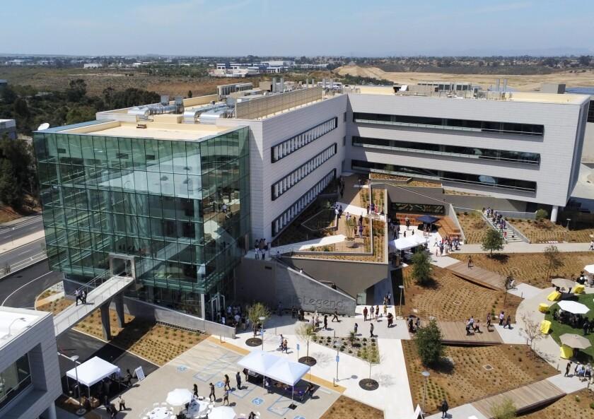 BioLegend's new San Diego headquarters.