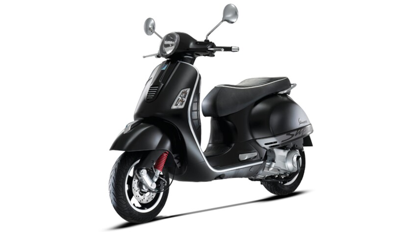 Smaller-sized motorcycles, like this 300cc Vespa scooter, could be taxed heavily under a new tariff proposed by the U.S. Trade Representative's office.