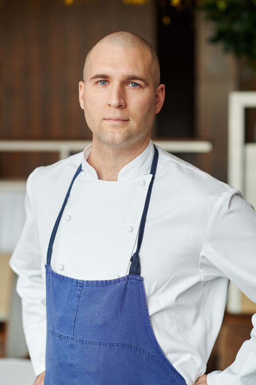 "Chef Matthew Peters won ""the Olympics of cooking"" in 2017."