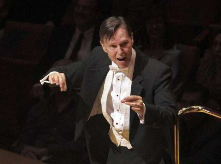 Review: Eclectic program by Grant Gershon and L.A. Master Chorale