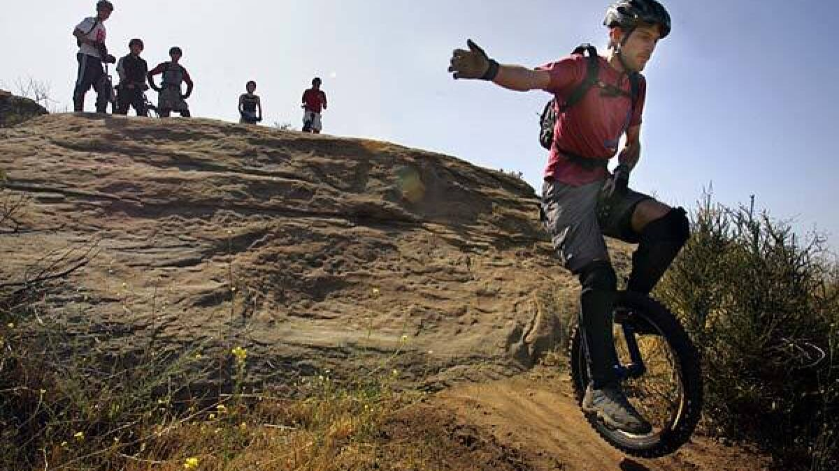 Off-road on one wheel - Los Angeles Times