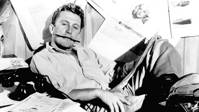 Kirk Douglas in the 1951 Billy Wilder classic 'Ace in the Hole'