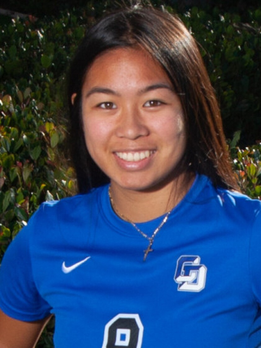 Malia Acol, La Jolla Country Day high school girls soccer