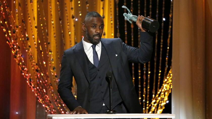 Idris Elba won two SAG Awards honors Saturday night.