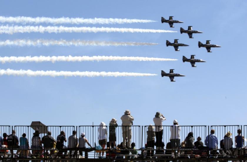 The 2016 MCAS Miramar Air Show at Marine Corps Air Station Miramar