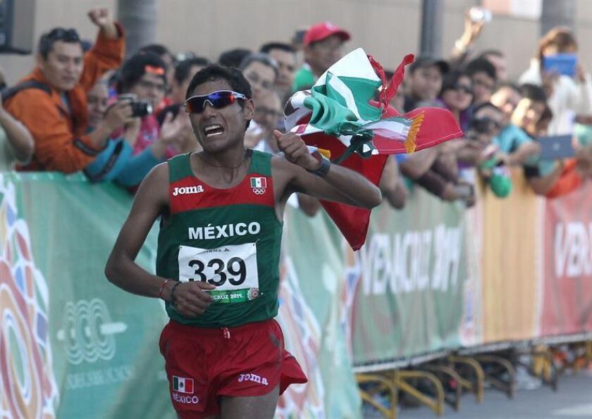 El mexicano Daniel Vargas aseguró hoy que luego de resolver de un añejo padecimiento de calambres llegará el próximo verano a los Juegos Centroamericanos y del Caribe de Barranquilla 2018 con todo para ganar la prueba de maratón. EFE/ARCHIVO