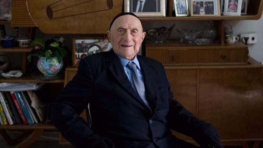 World's oldest man and Auschwitz survivor Yisrael Kristal dies at the age of 113