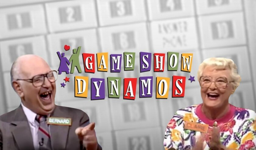 "A promotional poster for ""GameShow Dynamos."""