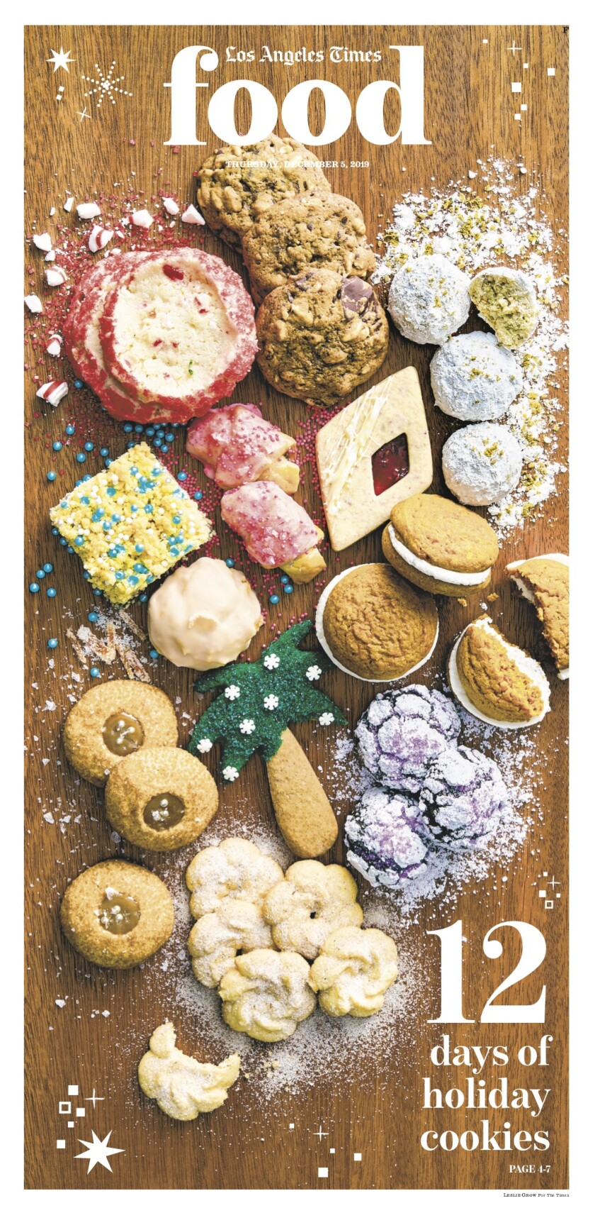 Los Angeles Times Food cover, December 5, 2019