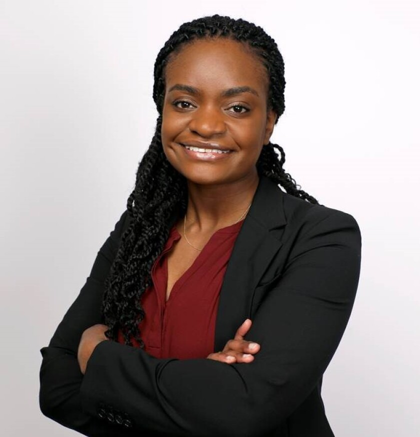 Ifeoma Ozoma, former public policy and social media impact manager at Pinterest