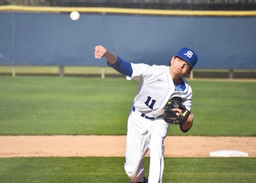 Rancho Bernardo High's Collin Rothermel is headed to Kansas State University.