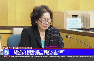 Zahau's mother testifies